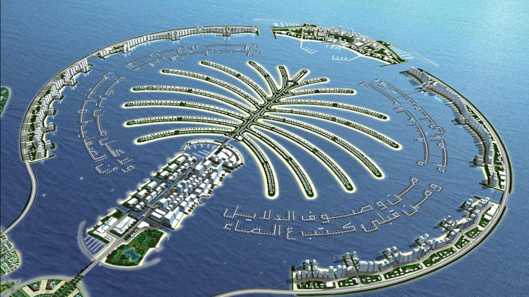 Dubai City - Palm Island
