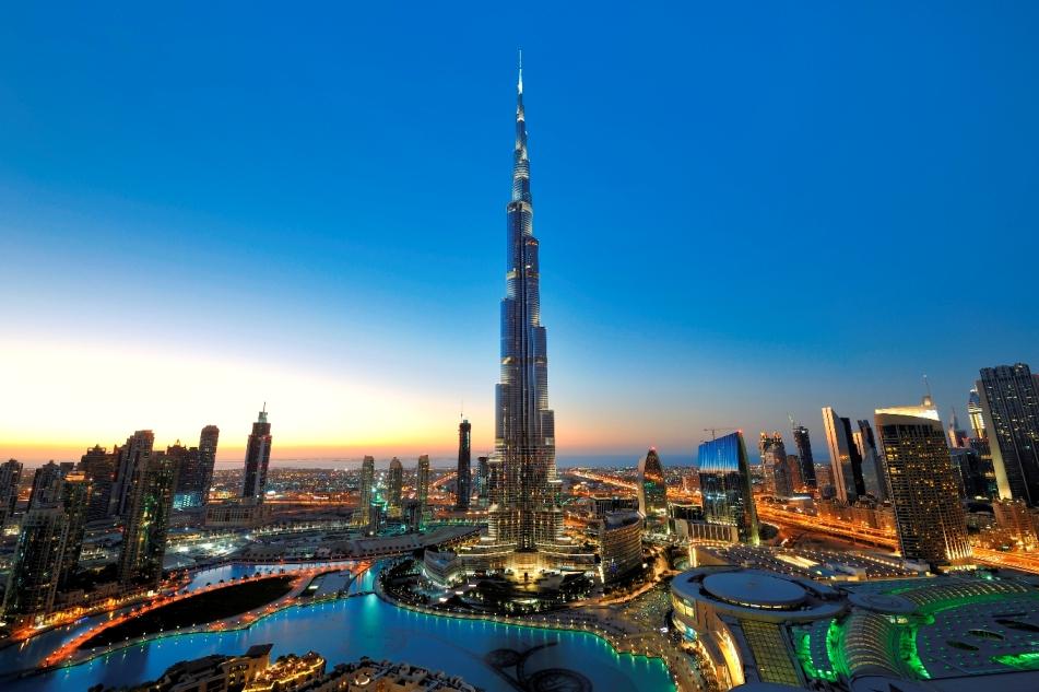 The Burj Khalifa - Dubai