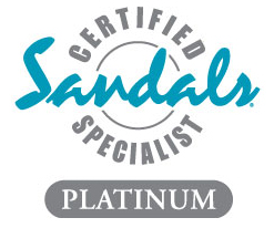 sandals certified specialist platinum