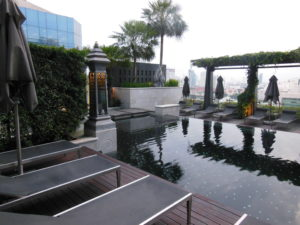 Poolside at the St Regis Bangkok 300x225